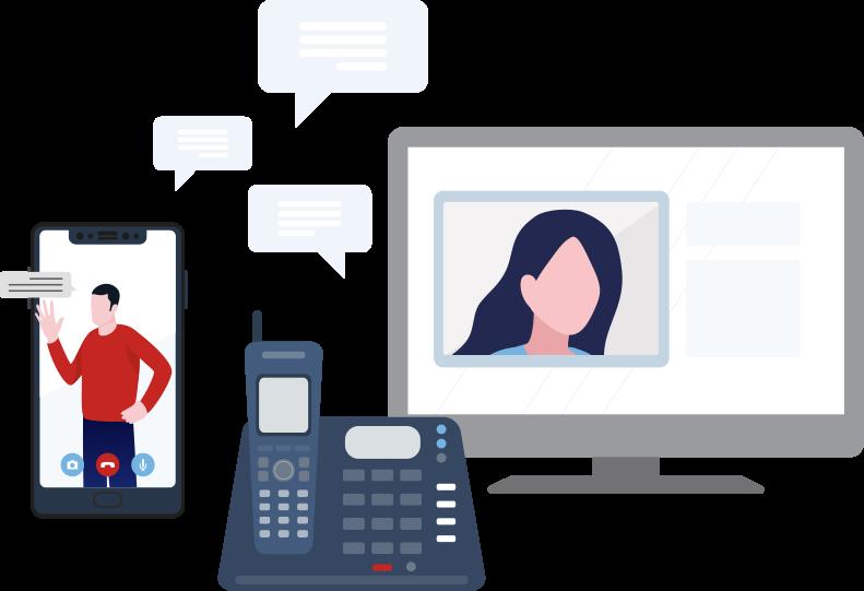 Solutions de téléphonie pour les entreprises